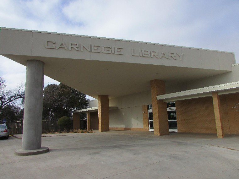 Carnegie Library new entrance